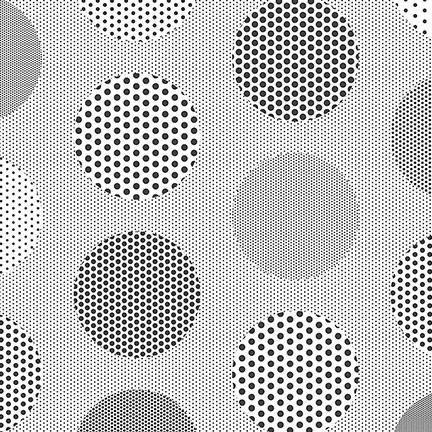 Circle patterned façade