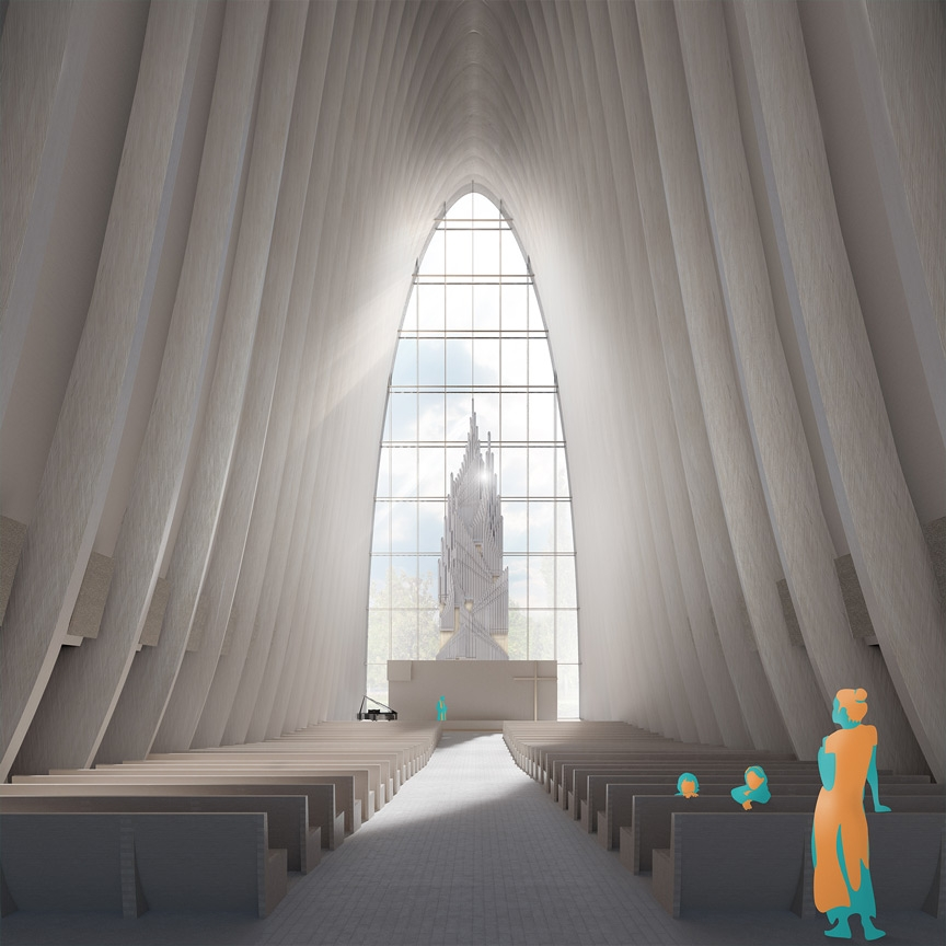 AV – entry for the Ylivieska Church competition